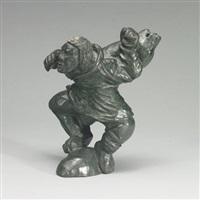 man bear transformation by eli nasogaluak