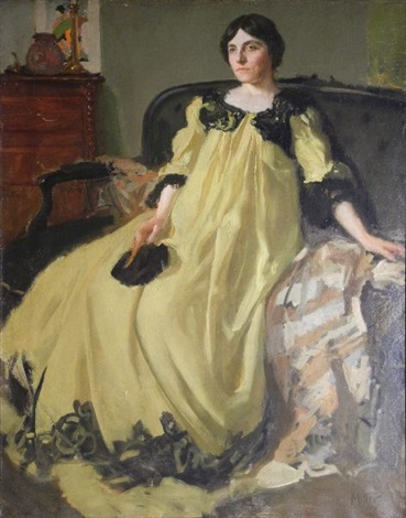 la robe jaune by richard edward miller