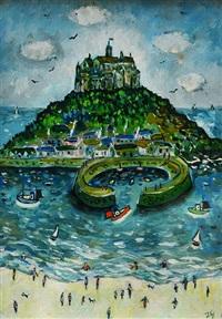 summertime, st. michael's mount by joan gillchrest