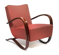 fauteuil h 269 by jindrich halabala