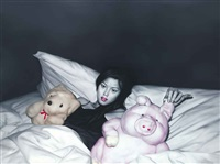 toys on the bed by he sen