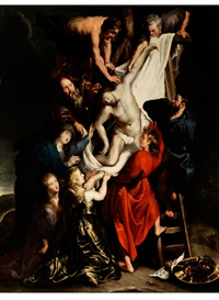 kreuzabnahme christi by abraham van diepenbeeck