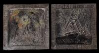 senza titolo (+ senza titolo; 2 works) by valerio gaeti