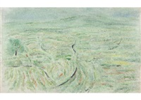 white plateau by kazuo tamura
