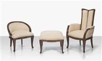 three-piece salon suite by louis majorelle