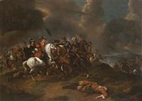 battaglia fra cristiani e turchi by austrian school (17)