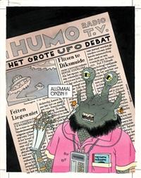 humo: het grote ufo debat by joost swarte