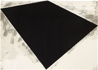untitled (philip glass poster) by richard serra