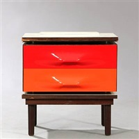 df 2000 bedside table by raymond fernand loewy