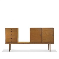 storage unit by eero saarinen and charles eames