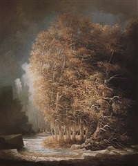 alberi d'autunno by tomaso tommasi
