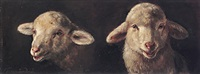 zwei lämmerköpfe by friedrich van den daele the elder
