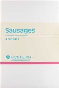 sausages by damien hirst
