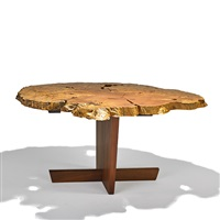 exceptional minguren i dining table by mira nakashima-yarnall