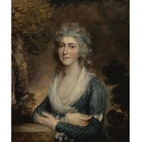 portrait of the hon. mrs. augustus phipps by gainsborough dupont
