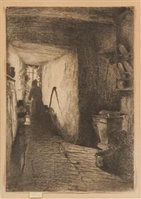 the kitchen by james abbott mcneill whistler