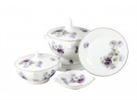 a porcelain dinner service (set of 82) by eric o. w. ehrström