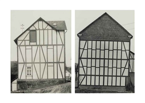 houses (in 2 parts) by bernd and hilla becher