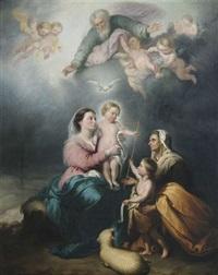 die heilige familie oder die jungfrau von sevilla by bartolomé esteban murillo