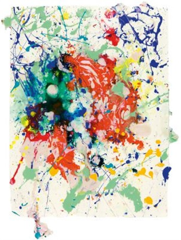 ohne titel by sam francis
