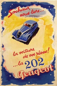 peugeot 202 by jean jacquelin