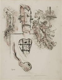 stickmen by george grosz