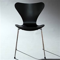 seven chair (model 3107) (set of 4) by arne jacobsen
