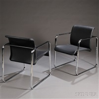 lounge chairs (2 works) by herman miller