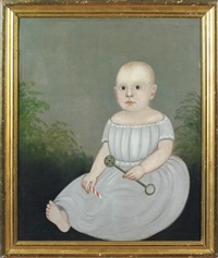portrait of a baby holding a rattle and peppermint stick by american school-prior-hamblen (19)