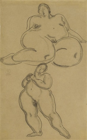 nudes by sanyu