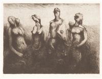 zweierlei (portfolio of 10) (+ 5 others; 15 works) by otto coester
