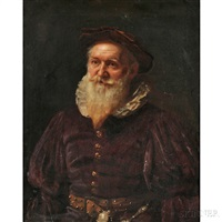 a yeoman by abraham (abbey) alston