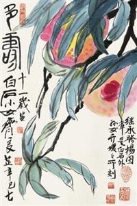 多寿 by qi liangzhi