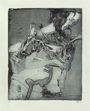 totentanz (portfolio of 11) by horst janssen