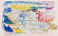 无题ii-661 油性蜡笔·纸 (untitled ii-661) by wu dayu