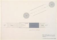 progetto per un cilindro che proietta due immagini opposte by maurizio mochetti
