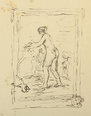 femme au cep de vigne by pierre auguste renoir