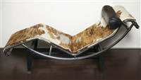 chaiselongue, modell lc4 by le corbusier, pierre jeanneret and charlotte perriand