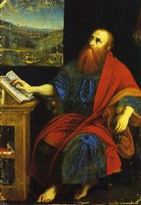 san paolo apostolo by romanino (girolamo romani)