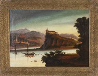 castles on the rhine by thomas chambers