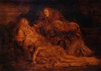 the lamentation of christ (after annibale carraci) by joseph smith