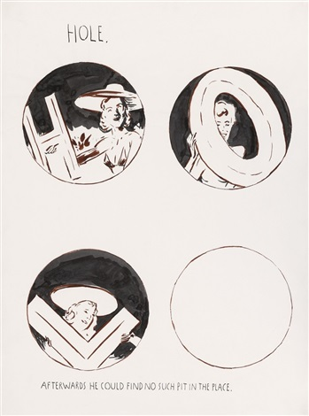 hole by raymond pettibon