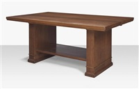 library table from the avery coonley house by frank lloyd wright