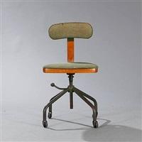 swivel chair (model 2275) by jorgen rasmussen