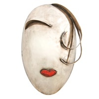 decorative mask by franz hagenauer