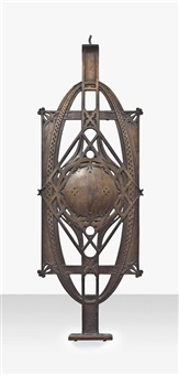 stair baluster from the chicago stock exchange by dankmar adler and louis sullivan