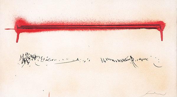acrilico 4 by emilio scanavino