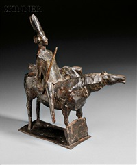 horse and rider by david aronson