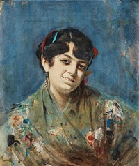 spanjorska från madrid ii (spanish lady from madrid ii) by anders zorn