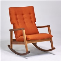 rocking chair by jens risom